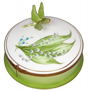 Starter piece from the Muguet Porcelain Collection