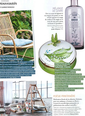 Limoges porcelain expertise highlighted by French magazine