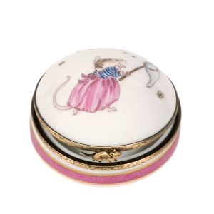 Personalized Tooth Fairy Box in Limoges Porcelain