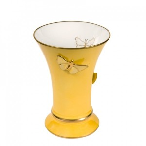 modern-french-design-yellow-porcelain-vase-with-butterflies